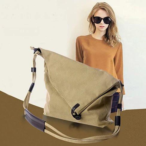 LEISURELY Foldover Crossbody Bag In 6 Colors - VistaShops - 4