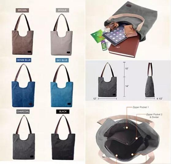 NATURA Cotton Canvas Tote By Journey Collection - VistaShops - 2