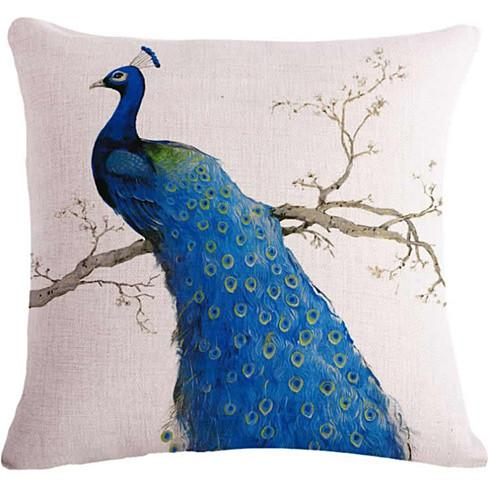 PEACOCK EXOTICA Cushion Covers in Pairs - VistaShops - 3