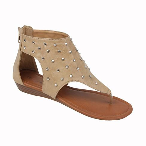 STAR WALKER Star Studded Sandals - VistaShops - 3