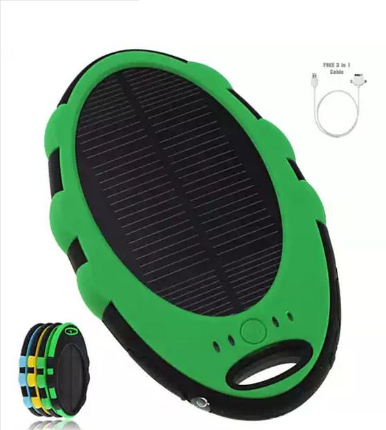 Solar Green PowerLeaf Charge Extender for your Smart Phones and Gadgets - VistaShops - 1