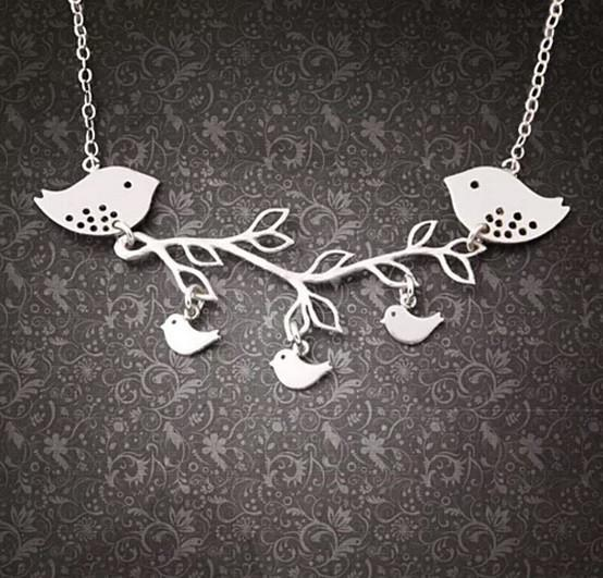 Summer Songs Necklace in Sterling Silver - VistaShops - 1