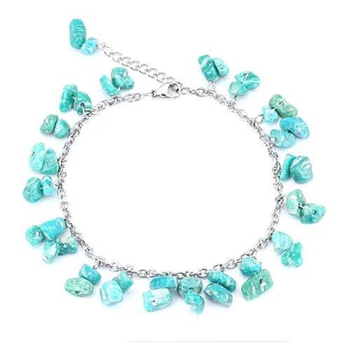Turquoise Beach Muse Bracelet As Well As Anklet