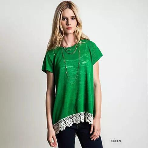 VIRINA Floral Lace Top - VistaShops - 5