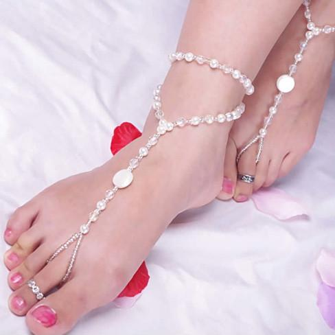 Barefoot On The Beach Anklets - VistaShops - 2