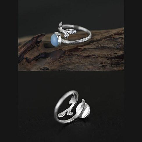 Singing Bird - The Bird with the Nest Ring - VistaShops - 1