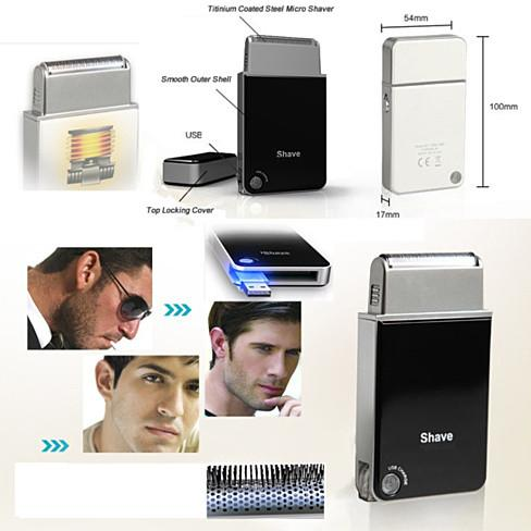Chic Shaver - A Portable Travel USB Rechargeable Shaver - VistaShops - 3