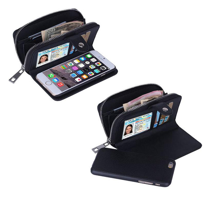 iPhone 6/6 Plus Clutch Purse with Detachable Phone Case - VistaShops - 1