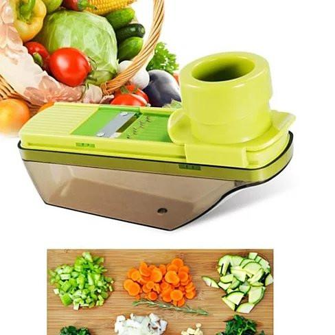 Veggie Lover's Compact Palm Sized Mini Grater and Veggie Slicer - VistaShops - 1