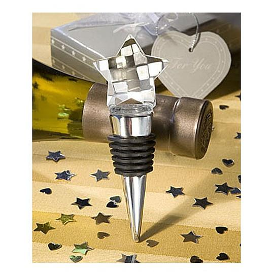 Fine Wine Wine Stopper With A Star