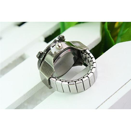Victoria Ring Watch With Intricate Design