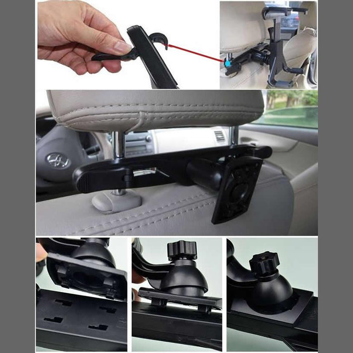 Car Headrest Stand for iPad and Tablets - VistaShops - 2
