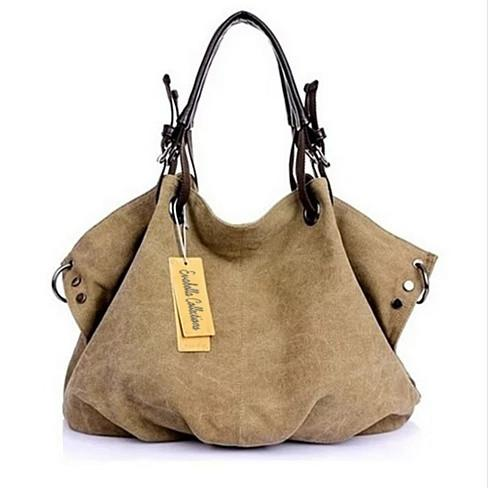 Journey Canvas Handbag - VistaShops - 1