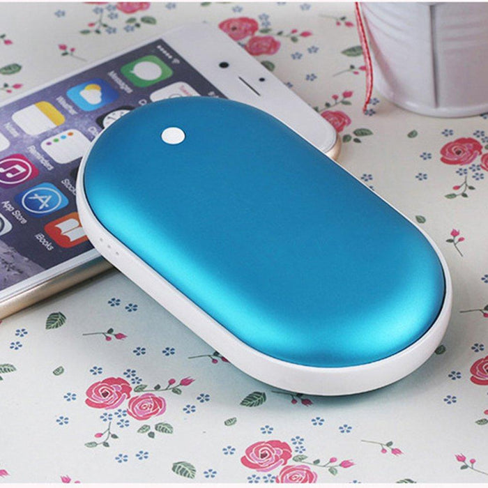 Warm And Cozy Portable Hand Warmer And Power Bank