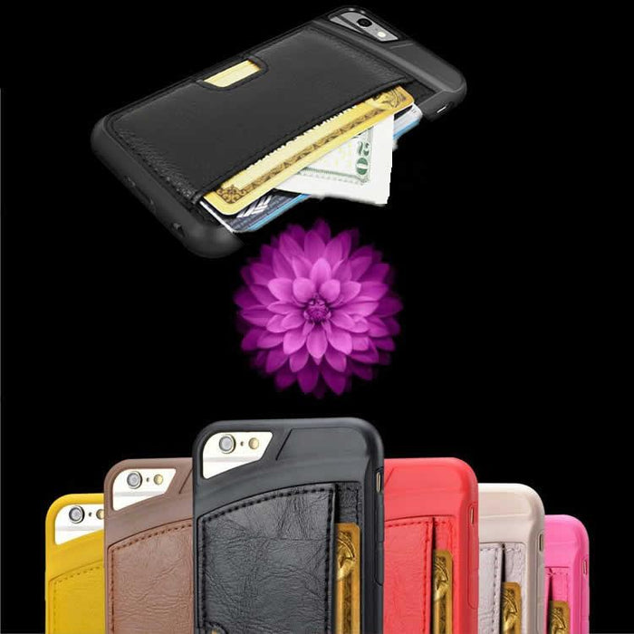 iPhone 6 Protective Case with Hunchback Wallet - VistaShops - 1