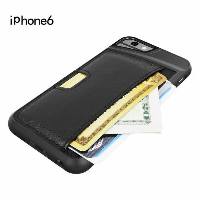 iPhone 6 Protective Case with Hunchback Wallet - VistaShops - 3