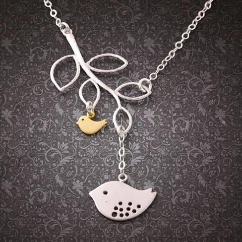 It's All In The Family 925 Sterling Silver Necklace - VistaShops - 2