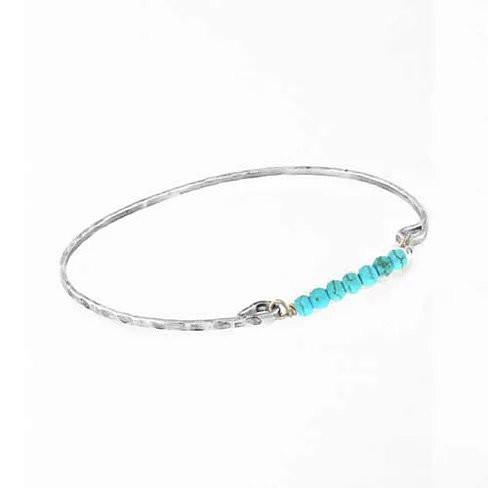 Holiday Fashion Bracelets In Turquoise and Pearls - VistaShops - 2