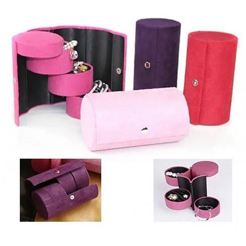 Jewel Roll for Travelers or Anyone - Your personal jewels neatly organized in easy to carry roller case - VistaShops