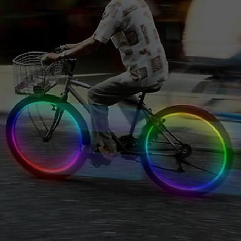MULTI LED Bike Wheel Lights also for cars and Motorcycle - VistaShops - 1