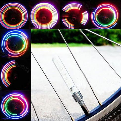 MULTI LED Bike Wheel Lights also for cars and Motorcycle - VistaShops - 2