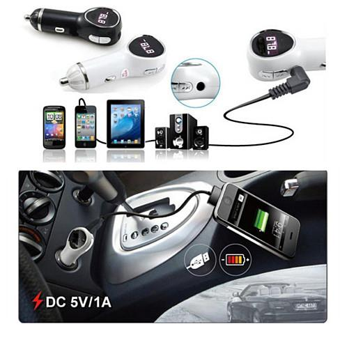 Music Broadcaster & Charger in any car for your Smartphone - VistaShops - 3