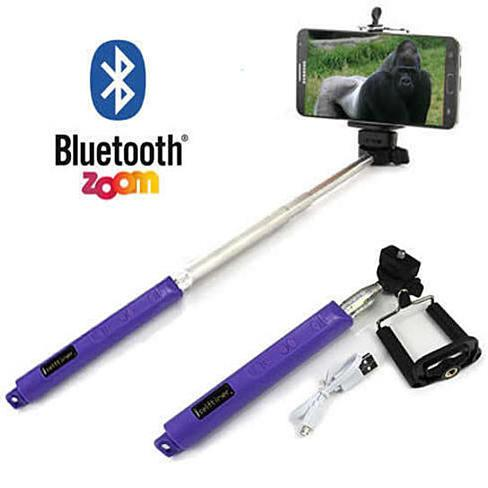 Selfi Monopod Telescopic Stick with Bluetooth & Zoom controls - VistaShops - 1