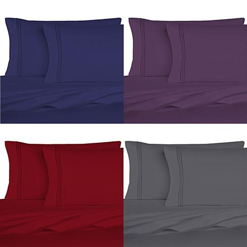 The Good Living Super Cool Micro Fiber Bed Sheets Set of 6 - VistaShops - 1