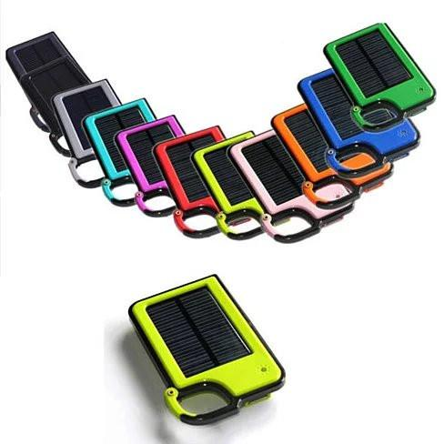 Clip-on Tag Along Solar Charger For Your Smartphone - VistaShops - 1