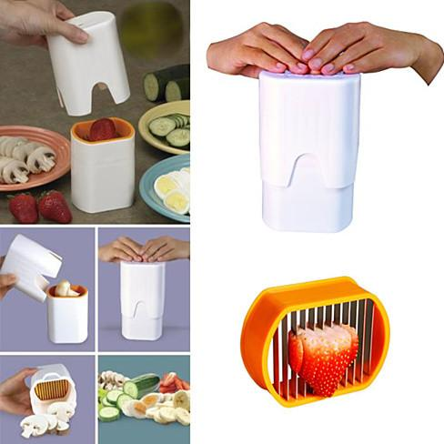Blink And Slice Speedy Slicer - Slice Your Fruits And Veggies In The Blink Of An Eye - VistaShops - 2