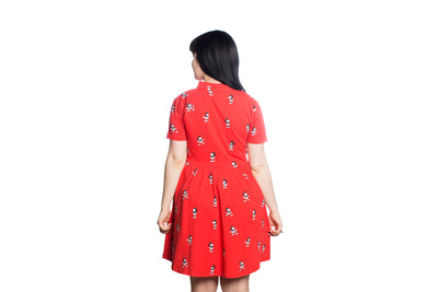 Vintage Mickey Button Up Dress