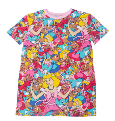 Cinderella All Over Print T-Shirt