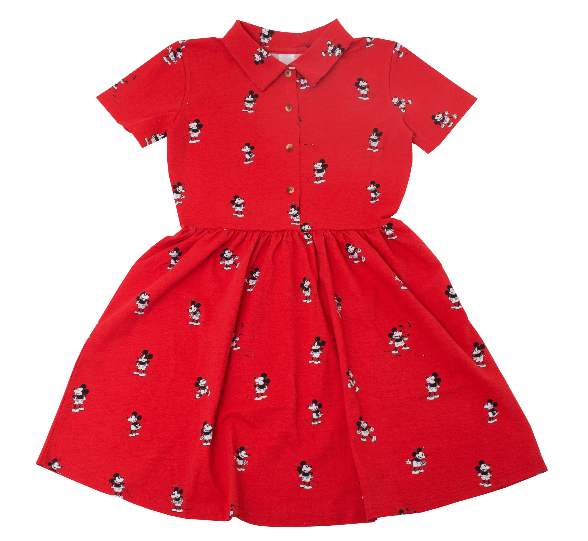 27ff1d4350f Vintage Mickey Button Up Dress - Cakeworthy