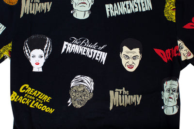 Universal Monsters Button Up Dress