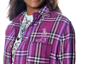 Frozen Anna Flannel
