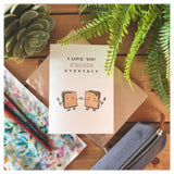 I Love You S'mores Everyday Card