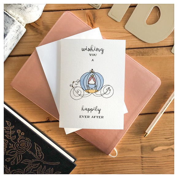 Wishing You A Happily Ever After Card