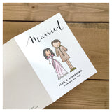 Custom Wedding / Engagement Greeting Card