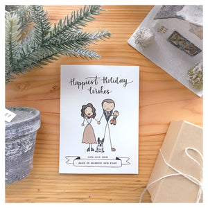 Custom Holiday Greeting Card