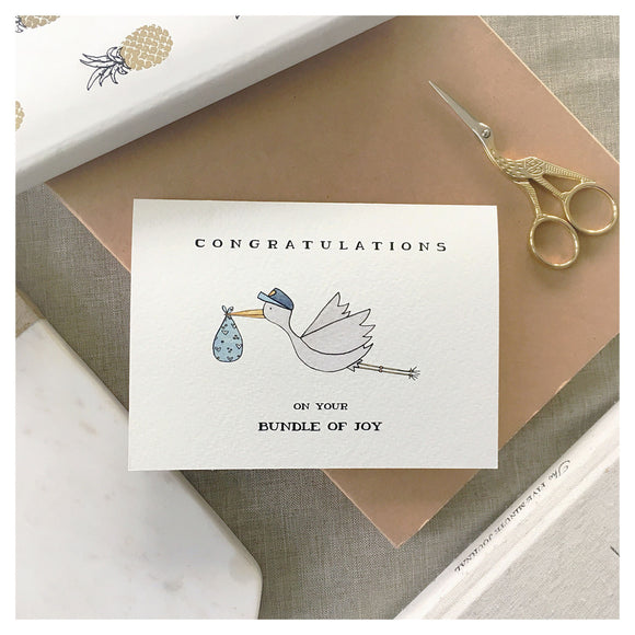 Congratulations On Your Bundle Of Joy Card