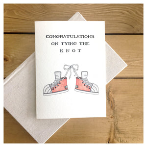 Congratulations On Tying the Knot Card