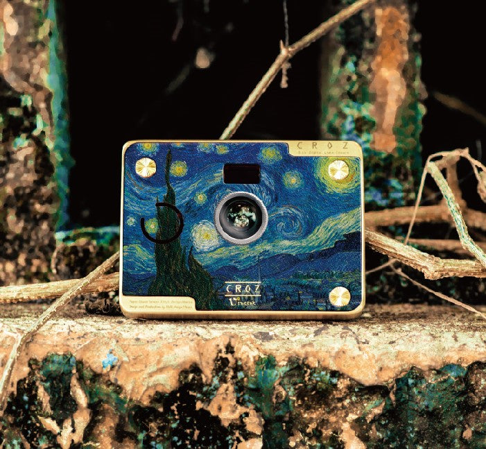CROZ D.I.Y. Digital Camera X Vincent Van Gogh (Starry Night)