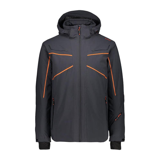 CMP Jackets 48/UK 38 / Anthracite CMP 39W1517 Mens Double Stripe Ski Jacket 8056381560994 39W1517