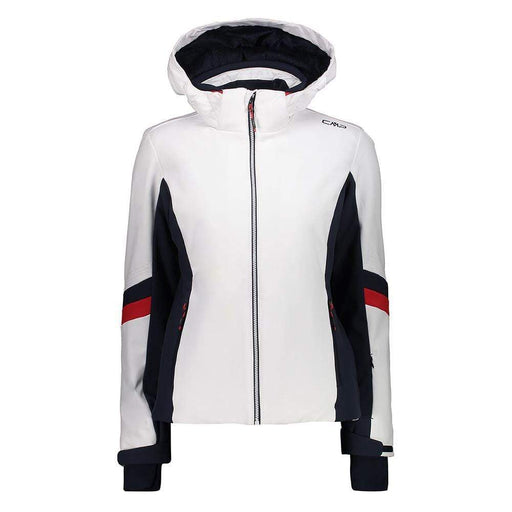 CMP Jackets White / 36/UK10 CMP 39W1596 Ladies Softshell Ski Jacket White 8056381570030 39W1596