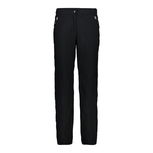 CMP Pants 36/UK10 / Black CMP 3W18596CF Ladies Patmore SHORT Ski Pant Black 8033625721052 3W18596CF