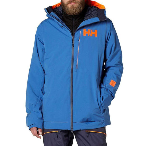 Helly Hansen Jackets Stone Blue / Large Helly Hansen SOGN Mens Ski Jacket 7040055223224 65509