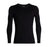 Icebreaker Base Layers Black / Large Icebreaker Mens Tech Top LS Crewe
