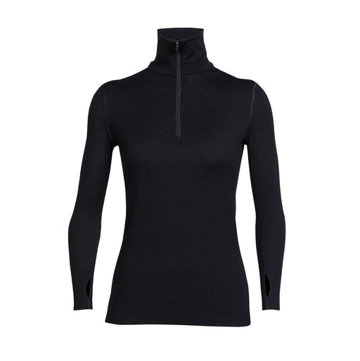 Icebreaker Base Layers Black / X-Small Icebreaker Ladies 260 Tech LS Half Zip Top 9420058530877 104390