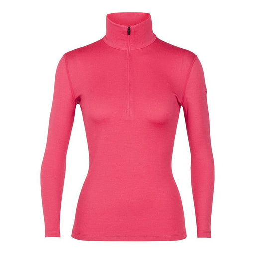 Icebreaker Base Layers Prism / X-Small Icebreaker Ladies 260 Tech LS Half Zip Top 9420058531027 104390