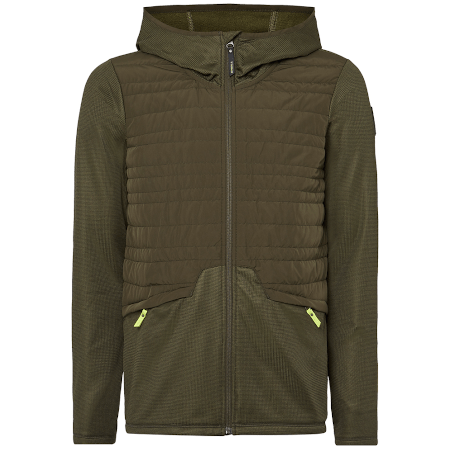 O'Neill Mid Layers Small / Green O'Neill Mens PM Athmos Baffle Mix Fleece Forest Night 8719403528692 9P0216